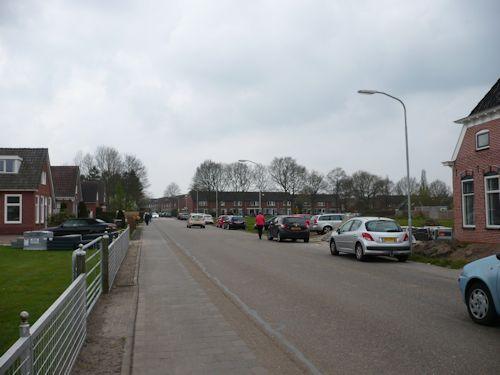 De straat vol met auto's